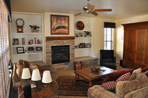 Finish Basement with a Entertainment Room for the whole family to Enjoy